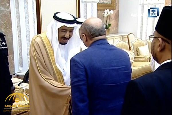بالفيديو .. ماذا قال خادم الحرمين لرئيس بعثة الحج المصرية في الحفل السنوي ؟