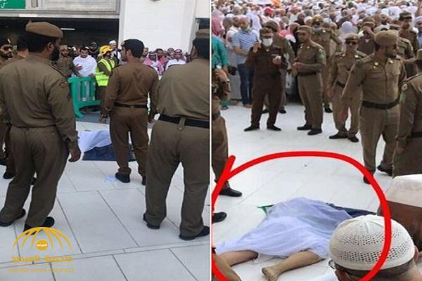 """تفاصيل انتحار حاج عراقي ألقى بنفسه في """"صحن الطواف"""" بالحرم ! – فيديو وصور"""