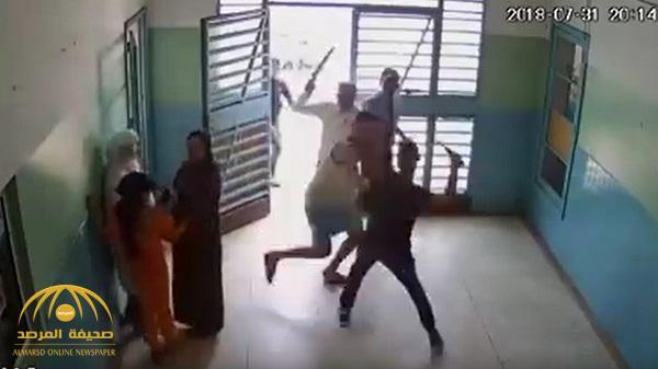 شاهد .. شجار بالسيوف داخل مستشفى بالمغرب