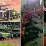 بالفيديو .. مواجهات واسعة وشعار الموت للدكتاتور خلال مباراة كرة القدم في العاصمة طهران