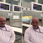 فيديو.. ماذا قال أول مسؤول إيراني لحظة وصوله مطار جدة .. وهذا ما كشفه عن عدد حجاج إيران القادمين للمملكة