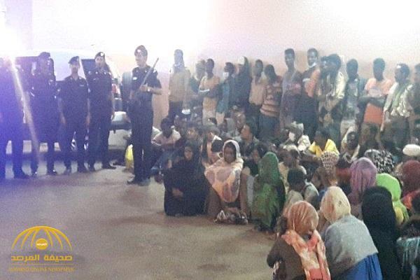 بالصور.. مجهول يحتجز 144 شخصًا بينهم 22 امرأة في وادي الدواسر.. وهكذا تعاملت الأجهزة الأمنية!