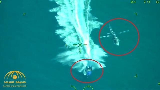 شاهد .. مطاردة مكسيكية بين «هليكوبتر» و زورقاً يحمل طنيّ مخدرات في البحر