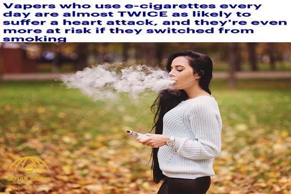 دراسة تكشف مخاطر صادمة للسجائر الإلكترونية