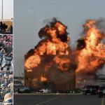 مهارات قتالية وقفز من فوق المركبات واشتعال رجل .. شاهد : عرض عسكري خطير لقوات أمن الحج !