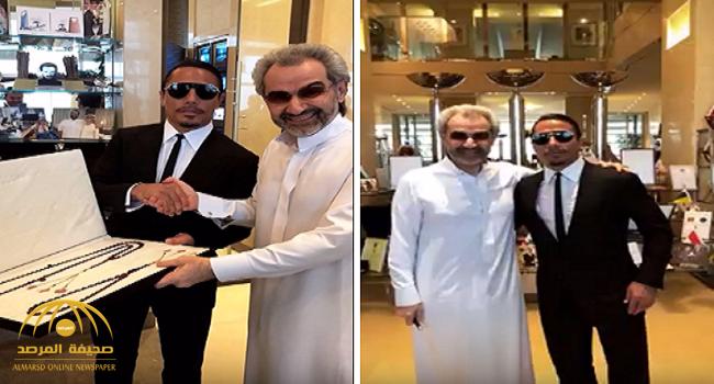"""شاهد.. الوليد بن طلال يلتقي الطباخ التركي نصرت """"حبيب الملح"""" في الرياض.. وتكهنات حول الزيارة!"""