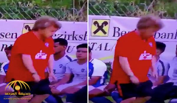 قبل مباراة السوبر السعودي.. شاهد بالفيديو: مدرب نادي الهلال يسخر من اللاعبين بطريقة مثيرة للجدل