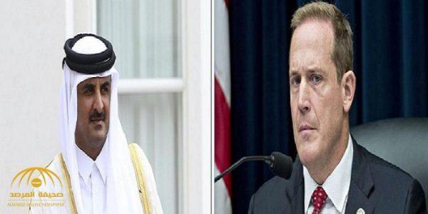 """نائب أمريكي يهاجم قطر بشدة .. ويطلب من """"ترامب"""" اتخاذ هذا الإجراء فورا !"""