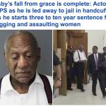 متهم باغتصاب أكثر من 60 امرأة .. شاهد .. ممثل أمريكي شهير مكبل اليدين يواجه السجن 10 سنوات