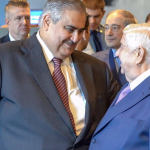 شاهد :  لقاء حار  بين  وزير خارجية النظام السوري ونظيره البحريني في مقر الأمم المتحدة!