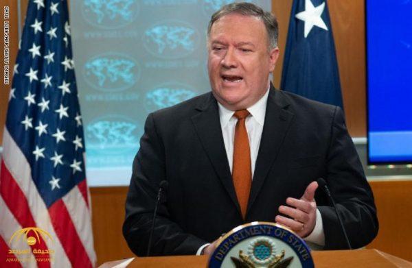 وزير الخارجية الأمريكي يوجه تهديدا  قويا إلى إيران .. وهكذا أجاب على سؤال هل سيكون الرد عسكريا!