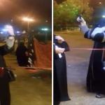 """أمانة جدة ترد على مقطع رقص امرأة منتقبة بـ""""المقص"""" أثناء حفل افتتاح حديقة عامة !"""