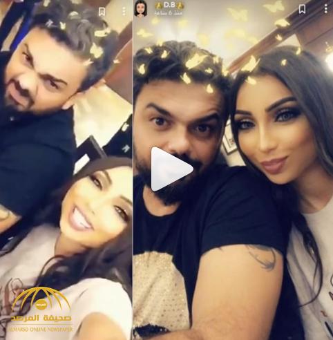 بعد أنباء طلاقهما.. شاهد: أول ظهور لدنيا بطمة مع محمد الترك.. والأخير يرد بكلمة!