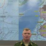 بالفيديو : وزارة الدفاع الروسية تشرح كيفية إسقاط الطائرة العسكرية فوق سوريا