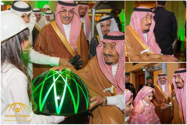 بالصور و الفيديو : خادم الحرمين يدشن مركز الملك سلمان الدولي للمؤتمرات بالمدينة