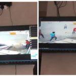 شاهد .. مفحط يستعرض بسيارته ويدهس شخصا أمام محطة بنزين في محافظة رنية