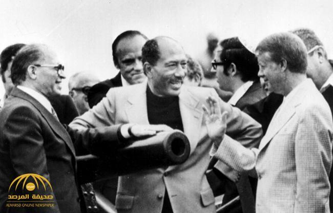 """بالصور : مصر تنشر وثائق تاريخية نادرة لاتفاقية """"كامب ديفيد"""""""
