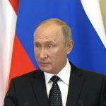 """بالفيديو : أول تعليق من """"بوتين"""" عقب إسقاط  الطائرة العسكرية بصواريخ النظام السوري ومقتل 14 ضابطاً روسياً !"""