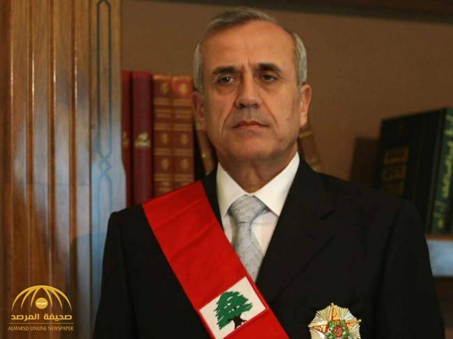 """الرئيس اللبناني الأسبق """"ميشال سليمان"""" يثير الجدل بعد تغريدة له عن الحشيش!"""