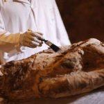 اكتشاف رسالة مخفية على مومياء مصرية