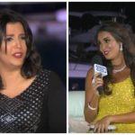 بالفيديو : ياسمين صبري تضع مذيعة في موقف محرج بسبب طلب مفاجئ