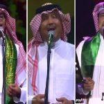 """شاهد..  """"راشد"""" و""""رابح"""" و""""المهندس"""" و""""محمد عبده """" يشعلون المسارح وسط تفاعل الجمهور في اليوم الوطني"""