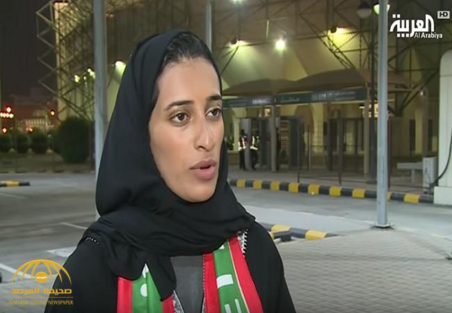 بالفيديو : سارة الدوسري أول مشجعة سعودية تقود مدرج نادي الاتفاق تروي تجربتها!
