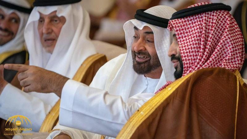 شاهد .. صورة حديثة تجمع ولي العهد ومحمد بن زايد في الطائف بعيداً عن ميدان الهجن