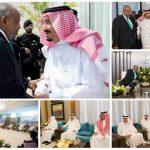 بالصور : خادم الحرمين يستقبل رئيس جيبوتي ويقيم مأدبة غداء تكريماً له