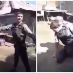بالفيديو : في مشهدٍ صادم .. شاب يقتل نفسه أمام الكاميرا خلال اختبار سترة مضادة للرصاص !