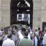 مشادات خلال جنازة الفنان المصري جميل راتب بحضور 4 فنانين – فيديو