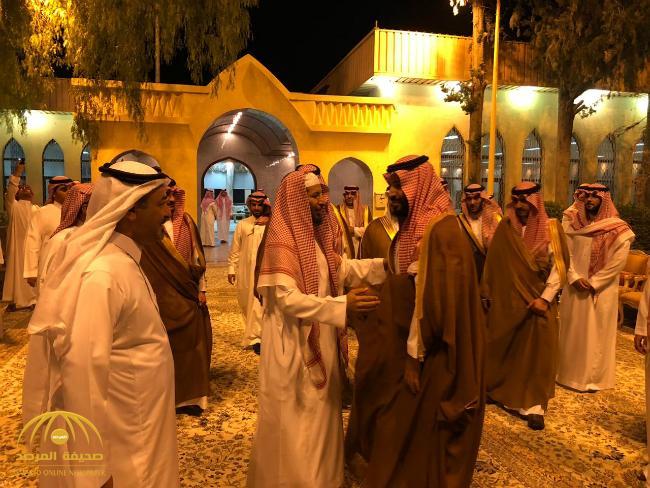 بالفيديو والصور: ولي العهد يزور معالي الشيخ سعد الشثري في محل إقامته بالطائف