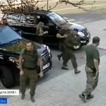 شاهد لحظة اغتيال الرئيس زاخارتشينكو