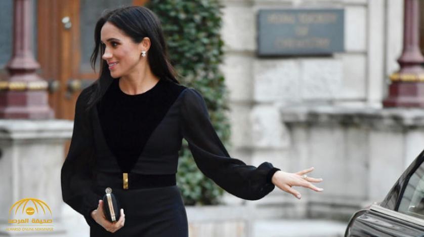 شاهد .. زوجة الأمير هاري تكسر بروتوكولات العائلة الملكية البريطانية وتصبح حديث وسائل الإعلام الغربية !