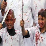 """ضرب الأجساد حتى تسيل الدماء..شاهد بالصور .. غرائب احتفال الشيعة بـ""""عاشوراء"""" حول العالم!"""