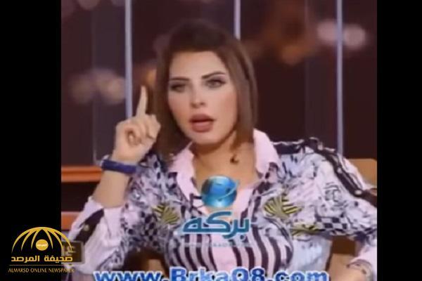 """تنظر لحجم """"كرشه"""".. شاهد.. شمس الكويتية تشن هجومًا على بعض رجال الدين!"""