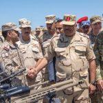 إلى جانب 16 دولة .. بالصور : السعودية تشارك في مناورات عسكرية ضخمة في مصر .. وهذا الهدف منها