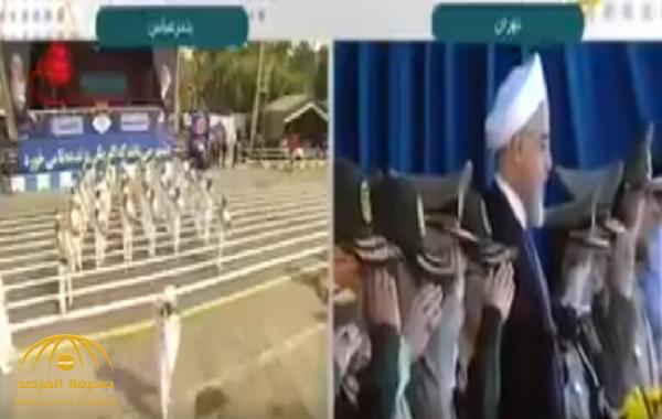 شاهد ردة فعل روحاني لحظة إعلامه بهجوم الأهواز!