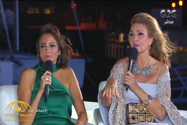"""بالفيديو .. الفنانة المصرية """"يسرا"""" تكشف كيف نجت من الموت في مهرجان الجونة"""