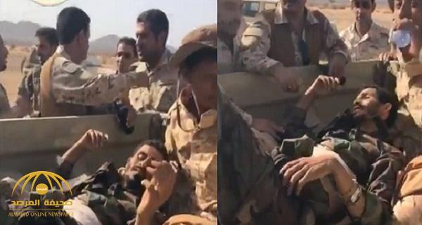 بالفيديو .. قوات الحرس الوطني يقتلون مجموعة من الحوثيين بصعدة ويأسرون قيادياً