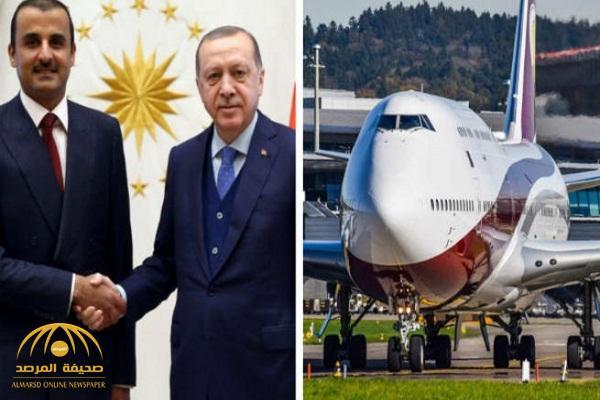 """تفاصيل صفقة سرية جديدة بين قطر وتركيا .. هل كان """"القصر الطائر"""" ثمناً لإتمامها"""
