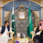 بالصور .. ولي العهد يلتقي رئيس وزراء باكستان