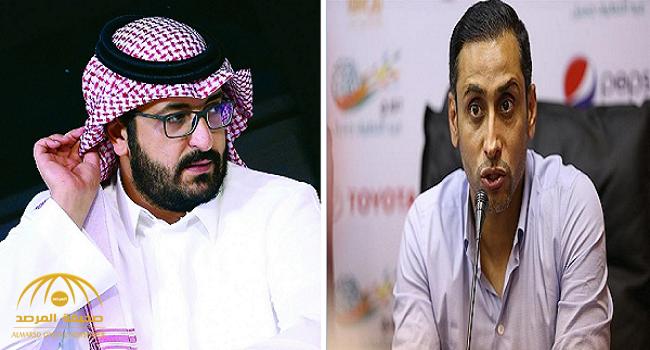 """""""سامي الجابر""""  يصف تغريدة """"رئيس النصر"""" بالسخيفة.. ويكشف عن مفاجأة يجهزها له آل الشيخ!"""