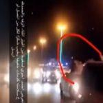 """شاهد.. فيديو جديد من زاوية أخرى لحظة سقوط مصور """"عريس المجمعة""""!"""