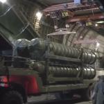 """شاهد اللقطات الأولى لوصول نظام الدفاع الجوي الصاروخي """"إس-300"""" إلى سوريا"""