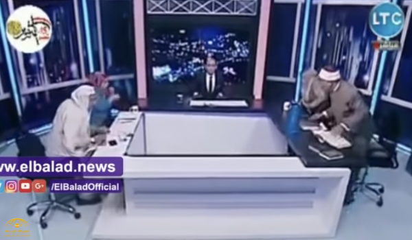 شاهد .. مشاجرة وشتائم بين داعيتين مصريين داخل الاستديو على الهواء!