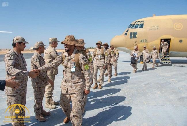 بالصور: قوات سعودية تصل مصر.. والملحق العسكري في سفارة المملكة يكشف عن سبب تواجدها