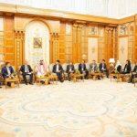بالصور: ولي العهد يجري عددًا من اللقاءات مع رؤساء صناديق سيادية واستثمارية ورؤساء شركات عالمية