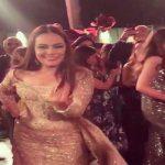 """بالفيديو والصور.. شريهان ترقص على أنغام أغنية لـ""""عمرو دياب"""" في أحدث ظهور لها!"""
