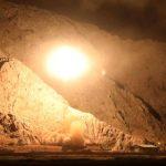 شاهد.. الصور الأولى للقصف الإيراني بصورايخ باليستية بعيدة المدى على سوريا